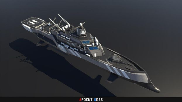 'Incursus'-class Commando Frigate by Helge129