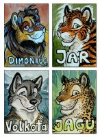 EF16 badges - part 1 by TaniDaReal