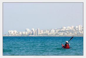 Rowing To Haifa by gilad