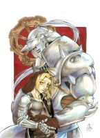FMA- Elric brothers by bobkitty