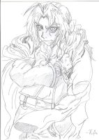 Edward Elric Sketch by Vampiress-Stocking