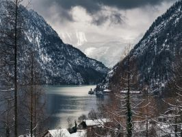 Coldness - mountains moving closer. by 8moments