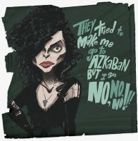 Bellatrix Lestrange by vitaminBee