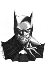 Batman after-work sketch by wrathofkhan