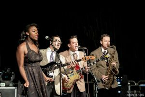 Virginia Brown and The Shamless 5 by rebelblues