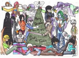 Duel of Fates Christmas Party by Karete