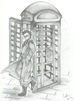 Haunted Phonebooth by MeiMeiHughes