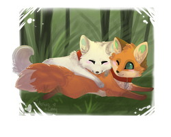 Chibi Lovey by Lost-Wolf-Soul