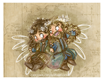 The Hobbit BotFA - Fili and Kili by caycowa