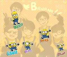 minions humanized by shiron2611