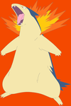 Typhlosion by SpazzDemon25