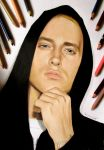 Eminem portrait in colored pencil by JasminaSusak