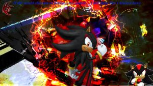 Shadow the hedgehog Background by infersaime