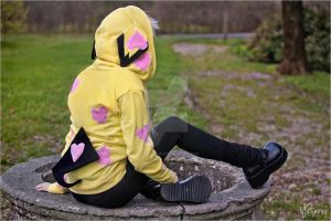 Pichu - Valentines day edition - photoshoot V by NightSky1357