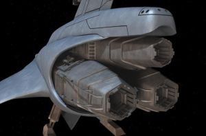 Viper Mark VII WiP engines by Snazz84