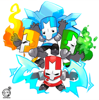 Castle Crashers by RZSTUDIO