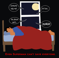 Even Superman can't save everyone by Gemkio
