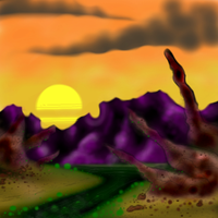 alien planet by JimmyCarterIsSmarter