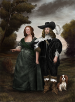 Baroque spouses by Mihin89