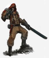 Desert Fox- Tallarn Raider2 by DavidSondered