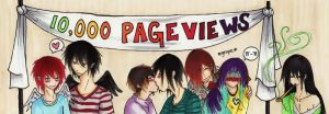 HAPPY 10,000 PAGEVIEWS by OC-YAOI-CLUB