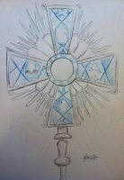 Kickstarter Commission: Monstrance by FaithWalkers