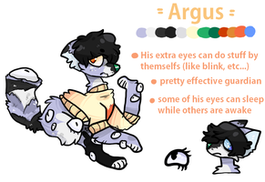 Argus Ref by silly-sweetness