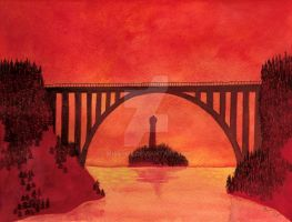 The bridge by MissPoe