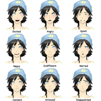Colette's Expressions by kichiko-san
