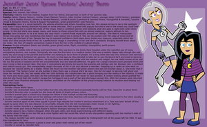Jennifer Fenton's Profile by Linariel