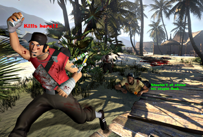 TF2: Scout Steals Addictions by SovietMentality