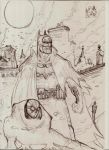 BatmanGotham By Gas Light SpidermanNoir UNNFINSHED by nic011