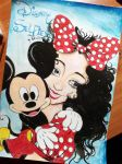 Disney Selfies: Mickey and Minnie Mouse by ScarletAlpha