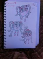 Some Random Cyli Drawings :D by angelchibivocaloid