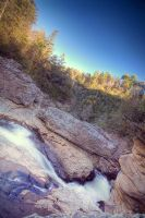 Peak of Linville Falls by seenew