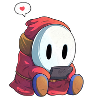 Shy Guy's DS by Cavea