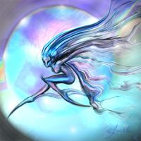 Wind spirit by Yoell