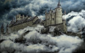 Castle in the Clouds by gugun014