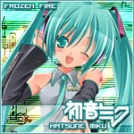 Hatsune Miku avatar by redflamingfire