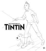The Adventures of Tintin by Project-Cow