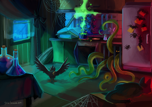 Witches  house by julitka
