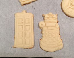 Dr Who cookies 1 by WarpzonePrints