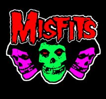 The Misfits Tri CG Pop Art by zombis-cannibal