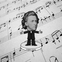 Frederic Francois Chopin - Bobblehead by Namath1968
