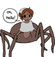 Along came a spider by mewgal