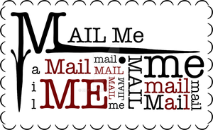 Mail Me Stamp by Bexy-Lea