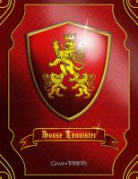 Game of Thrones: Lannister by dmavromatis