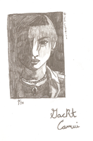 Gackt Camui: Sketch by WhiteRoseMarie