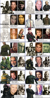 Metal Gear Solid 3 Movie Cast by Simetra666