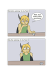 [Comic] In the Flesh by YamiTheDragon